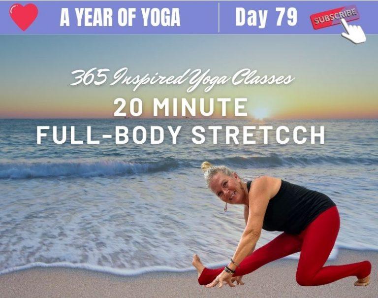 20 Minute Yoga Stretch