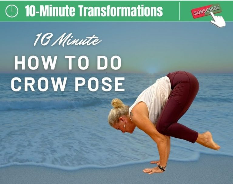 How to get into Crow Pose