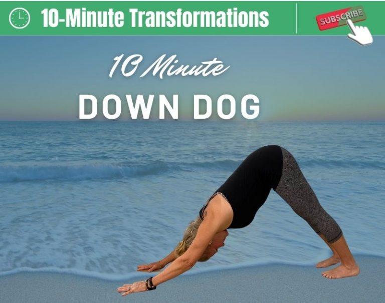 Down Dog Yoga Pose