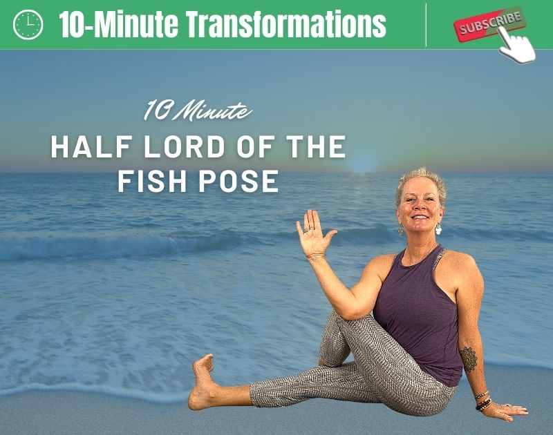 Half Lord of the Fish Yoga Pose